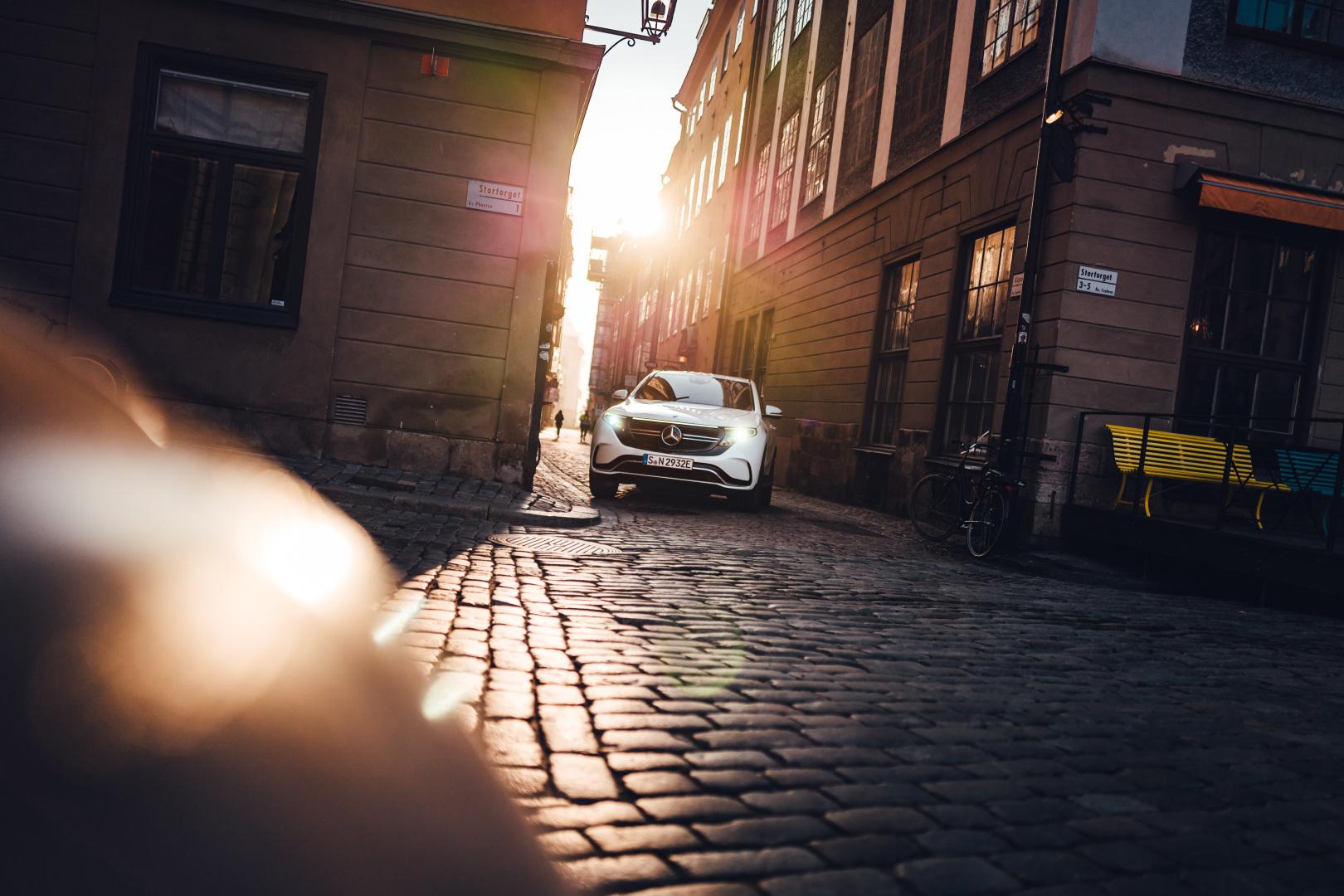 El-drevet og lækker Mercedes Benz EQC